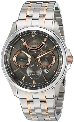 Citizen Men's'The Signature Collection' Japanese Automatic and Stainless Steel Dress Watch, Color:Two Tone (Model: NB5006-59H)