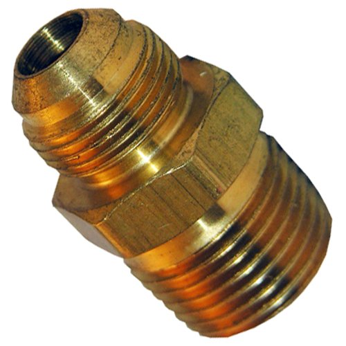 - LASCO 17-4869 3/4-Inch Flare by 3/4-Inch Male Pipe Thread Brass Adapter