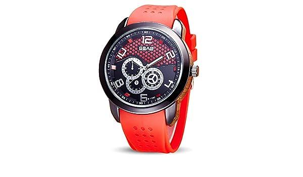 SamMoSon Relojes Hombre Deportivos Inteligentes Lotus Digitales Elegante, Reloj De Pulsera para Hombre De La Marca Top Luxury Famous Male Clock Watch O: ...