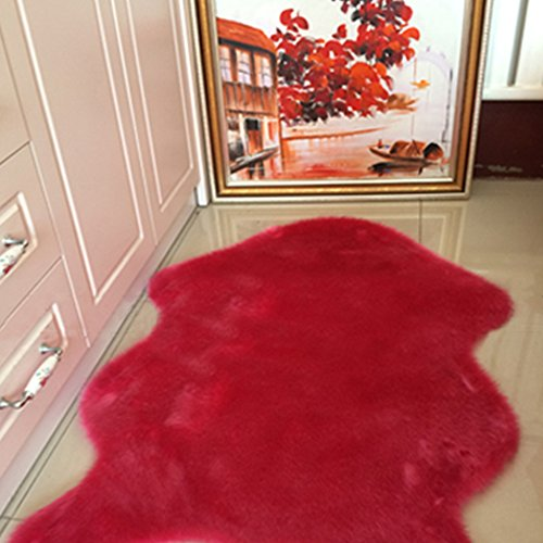 yazi Sheepskin Bedroom Washable 75cm 155cm