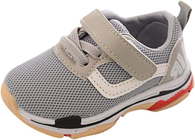 Sneakers Niños Zapatillas Deportivas Niña Niño, xinantime niños Mesh Letter Sport Running Sneaker Zapatos décontractées respirantes: Amazon.es: Belleza