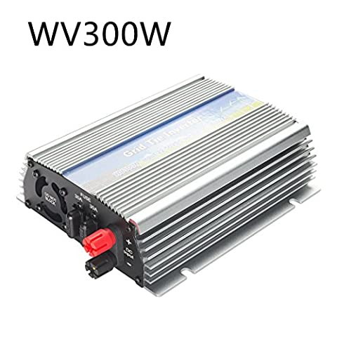uxcell 300w Pure Sine Wave Grid Tie Micro Inverter 22-50VDC to 90-140VAC with MPPT for 24V Solar Panels(Vmp30V orVmp36V)