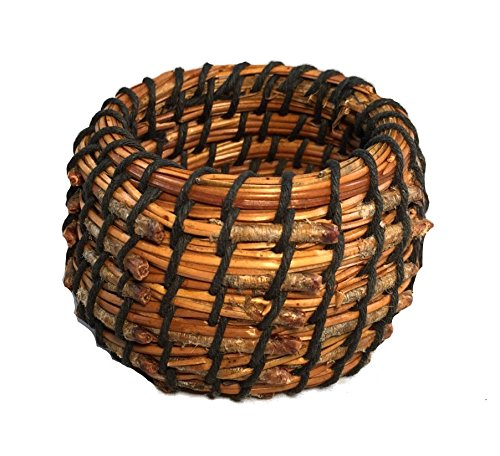 Coiled Basket Kit for Beginners - Pine Needle (Pine Basket Kits Needle)