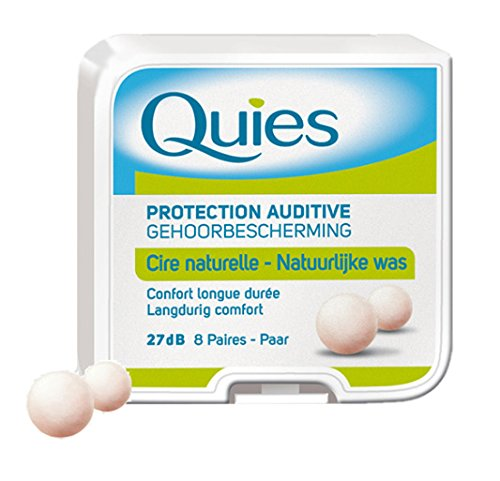 Quies Ear Plugs 8 Pairs-PACK OF 2 [Personal Care] by Quies by Quies (Image #1)