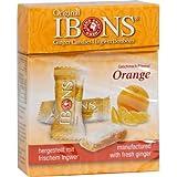 IBONS Orange Ingwerkaubonbons Orig.Schachtel 60 g Bonbons