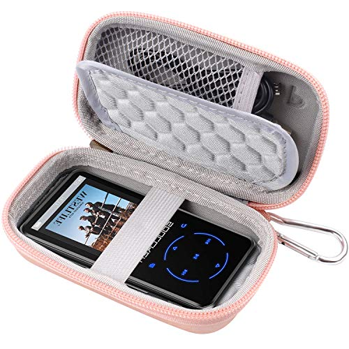 MP3 & MP4 Player Case for SOULCKER/G.G.Martinsen/Grtdhx/iPod Nano/Sandisk Music Player/Sony NW-A45 and Other Music Players with Bluetooth. Fit for Earbuds