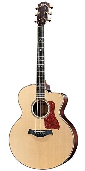 Taylor guitarras 815 CE Jumbo acústica guitarra eléctrica: Amazon.es: Instrumentos musicales