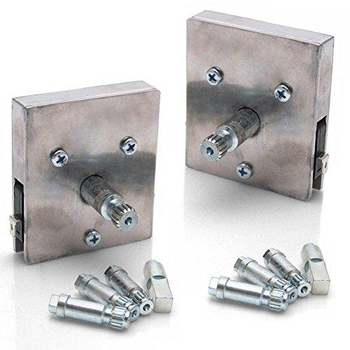 AutoLoc Power Accessories 321495 60-85 Alfa Window Crank Switch Kit 2 Door