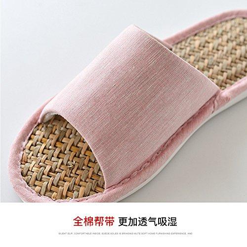 40 rosa 42 Zapatillas de verano 39 gris pantuflas Ropa antideslizantes 41 xazCvgwwqY