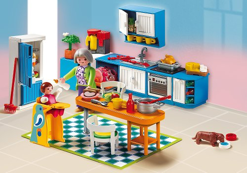 Playmobil 5329 rosa cocina for Playmobil cuisine 5329