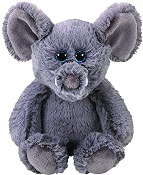 Ty - Attic Treasure Grey Peluche Elefante (United Labels Ibérica 65013TY)