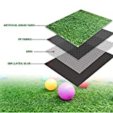 PZG Premium Artificial Grass Patch w/ Drainage Holes & Rubber Backing...