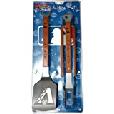 MLB Sportula Products 3-Piece BBQ Set