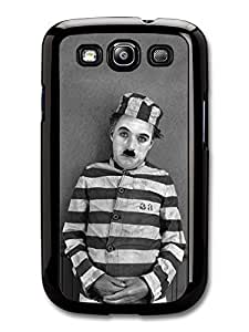 AMAF ? Accessories Charlie Chaplin Prisoner Prison Black & White case for Samsung Galaxy S3 wangjiang maoyi