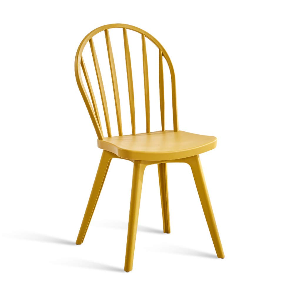 ダイニングチェアバースツールチェア朝食 家庭用ウィンザーチェア、プラスチックダイニングチェアモダンなミニマリストの朝食スツール大人の背もたれ椅子クリエイティブファッションバースツールホワイトブラック、キッチン、レストラン、カフェ、バー用 ビンテージの素朴な工業デザイン (Color : D) B07TDD2DKV D