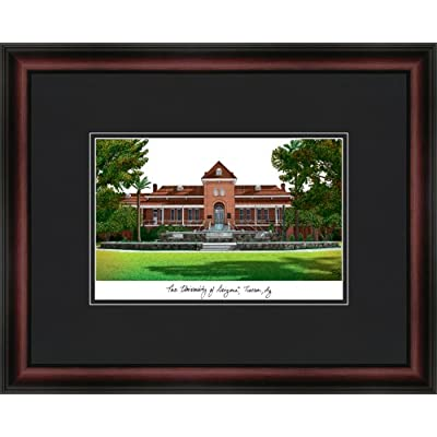 Image of Artwork Campus Images NCAA Arizona Wildcats Academic Framed Lithograph
