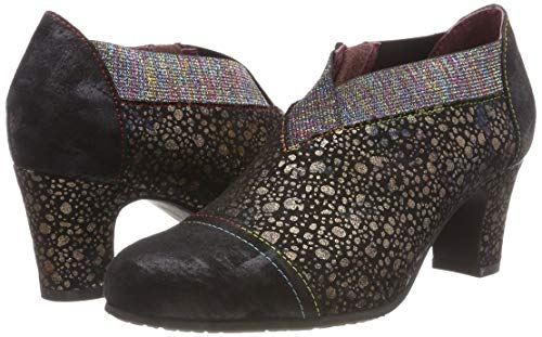Laura Mujer Negro Tacón De noir Para Elodie Zapatos Vita Noir 02 pwrpU4n