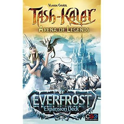 Czech Games Tash-Kalar: Arena of Legends - Everfrost Expansion Deck: Toys & Games