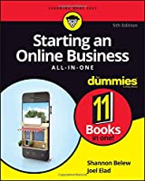 Starting an Online Business All-in-One For Dummies, 5th Edition Front Cover