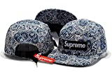Andreanna Navarrete Supreme Cap Men & Women's Baseball Snapback Hats Blue 1 One Size