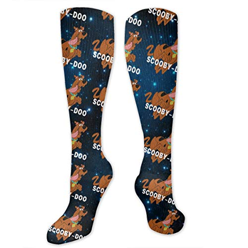 Scooby Doo Knee High Socks For Women And Men,Unisex Socks For Cosplay,Daily -