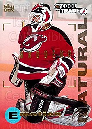 Martin Brodeur Hockey Card 1995 96 Nhl Cool Trade 18 Martin Brodeur