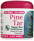 Bronner Brothers Pine Tar Super Gro Hair and Scalp Bonus, 6 Ounce