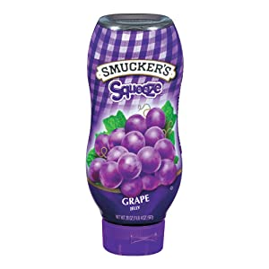 Smucker's Squeeze Grape Jelly, 20 Ounces (Pack of 12)