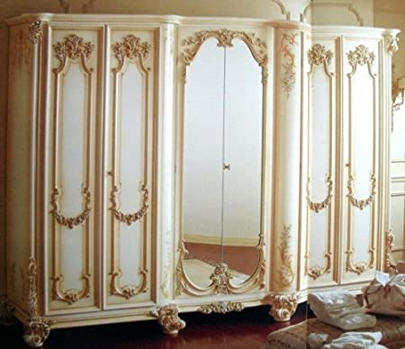 Camera Matrimoniale Stile Antico.Louisxv Barocco Armadio 6turig Specchio Camera Da Letto Stile