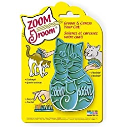 Zoom Groom Cat Brush Super Soft Brush Purple