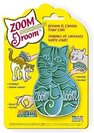 Kong Zoom Groom - Cepillo para Gatos (Muy Suave), Color Morado: Amazon.es: Juguetes y juegos