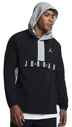 Jordan Nike Air Wings Anorak BlackGray Pullover Wind Jacket