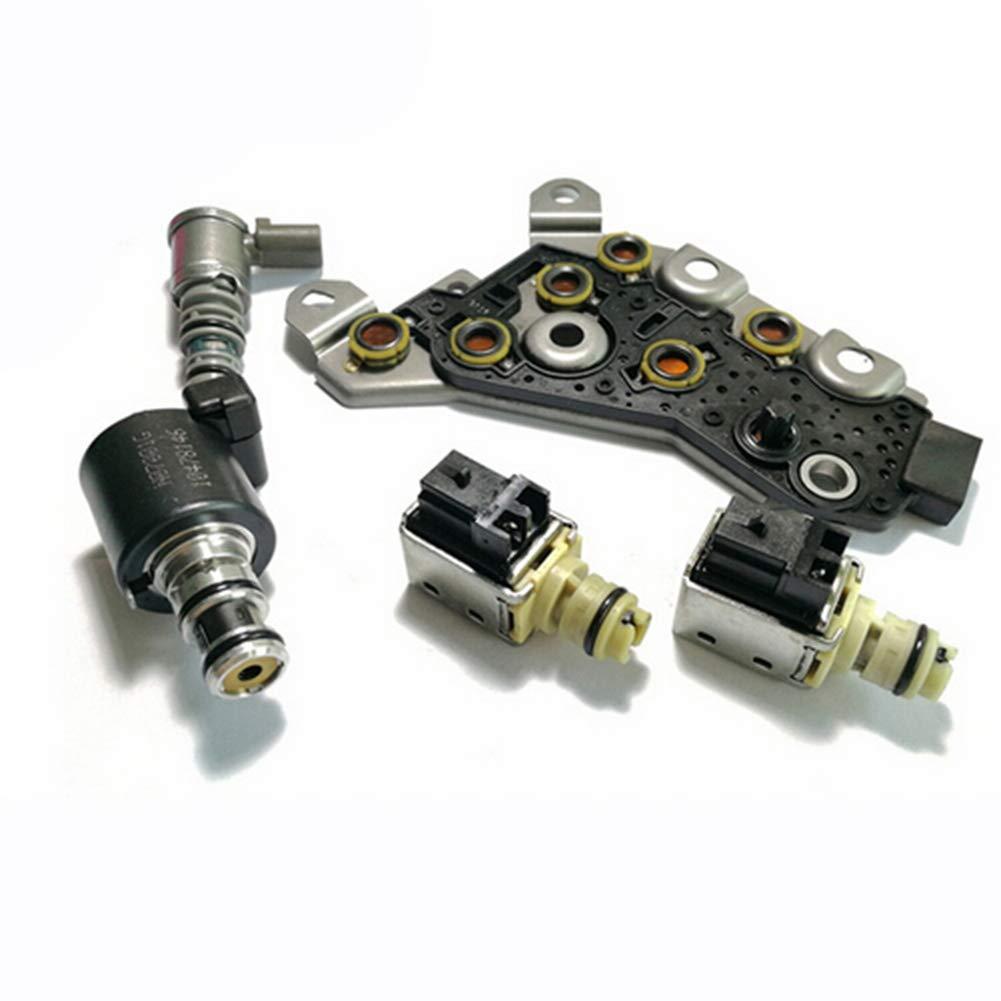 Transmission Solenoid Set 4T40E 4T45E 99173 Variable Speed Solenoid Valve Set Fits for Chevrolet GM 1995-2003 Baird Stone