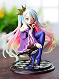 Anime NO GAME NO LIFE Shiro 1/7 Scale Complete Figure Collectible Model Toy 15CM