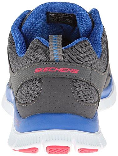 Skechers Flex Appeal, Zapatillas de deporte para mujer Gris (Grau (CCBL))