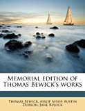 Memorial Edition of Thomas Bewick's Works, Thomas Bewick and Aesop, 1176828398