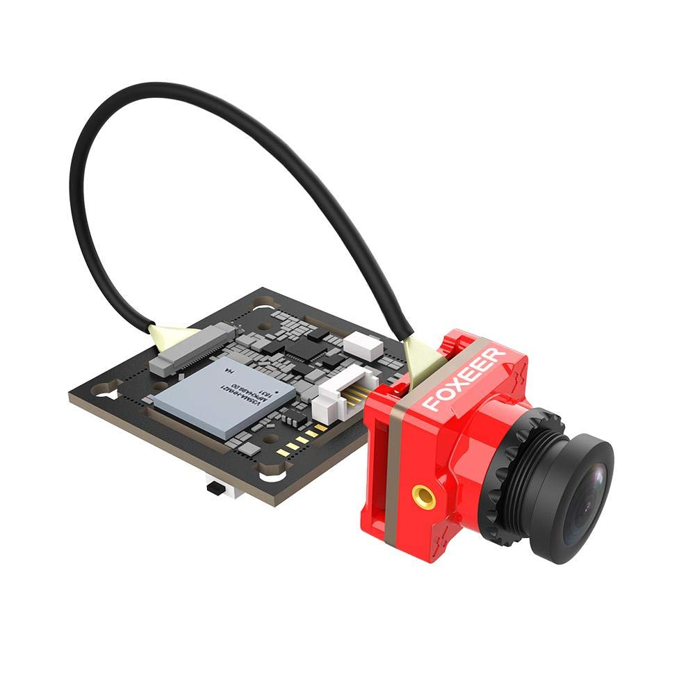Foxeer Mix 2 1080P 60fps HD Action FPV Low Latency Camera (RED)