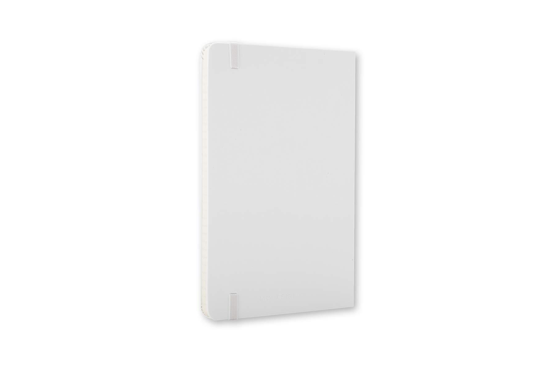 Moleskine Classic Notebook, Hard Cover, Large (5'' x 8.25'') Ruled/Lined, White by Moleskine (Image #6)