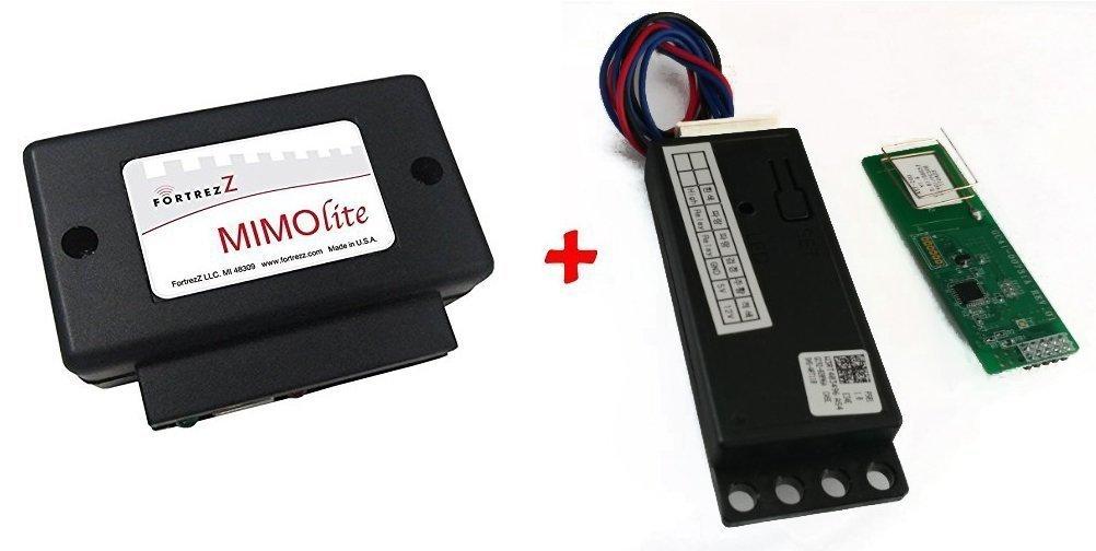 Zwave Kit for SAMSUNG Digital Door Lock Voice / Smart Phone Control Package (Works with Amazon Echo (Alexa) VIA Samsung SmartThings or Google (Wink))