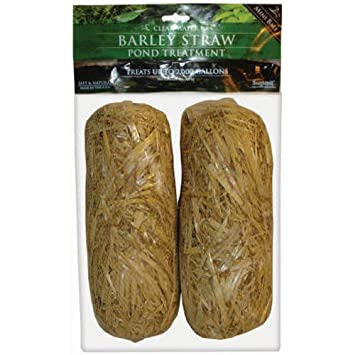 Amazon.com : Summit 130 Clear-water Barley Straw Bales, 2-Pack ...