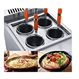 Commercial Table Top 4 Baskets LPG Pasta Cooking