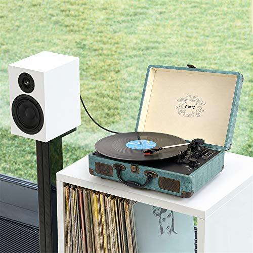 ایگرد - خرید از آمازون | Record Player, Miric Bluetooth