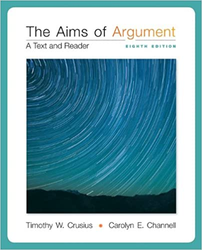 Aims of argument: text & reader: a text and reader kindle.