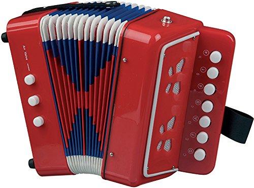 New Classic Toys NCT 0055 - Musikinstrument - Akkordeon, rot