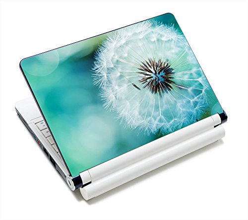 "Laptop Skin Sticker Decal,12"" 13"" 13.3"" 14"" 15"" 15.4"" 15.6 inch Laptop Skin Sticker Cover Art Decal Protector Notebook PC (Dandelion)"