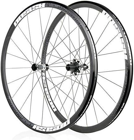 700C自転車ホイールセット、30MMアルミ合金MTBリムフロントホイールリアディスクブレーキクイックリリースサイクリングホイール32Hペイリンベアリング