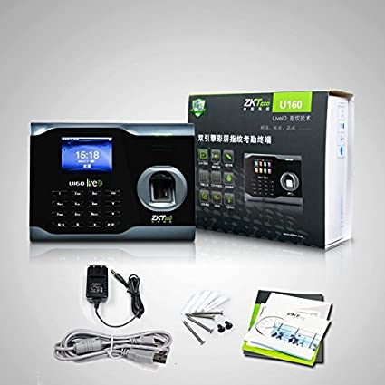 Amazon.com: ZK Biometric Fingerprint Attendance Time Clock+ WIFI +TCP/IP +USB, ZKSoftware Brand: Electronics