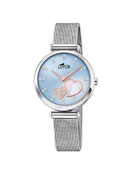 Reloj Lotus Corazones