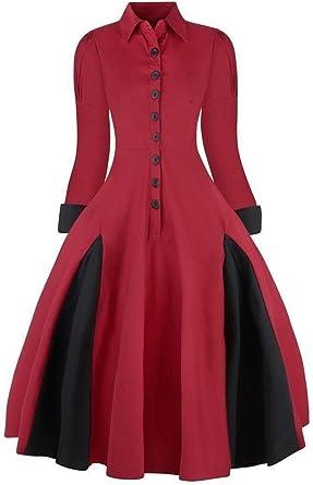 Vestido vintage tipo abrigo, de estilo victoriano, de mujer, los años ...