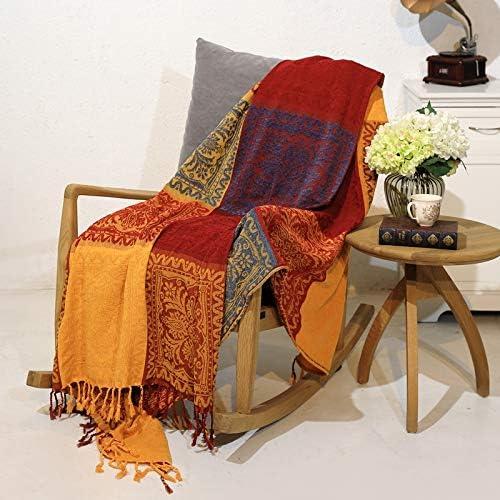 Prorector - Manta Reversible de algodón para Funda de sofá de Cama ...
